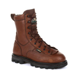 Rocky BearClaw 3D RKS0380 Men's 9 Inch 600G Insulated Waterproof Outdoor Casual Boots, available in Regular or Wide Width, Brown