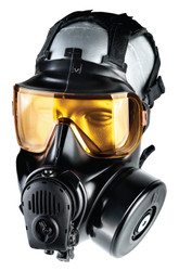 Avon Protection FM54 Twinport, Single Mask (APR) Air Purifying Respirator, Scratch Resistant, Communication Port for Integrated Voice Projection, Protection to the face, eyes and respiratory tract, Filter not Included.
