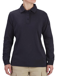 Propper® F5823 Women's Uniform Cotton Polo, available in Black and Dark Navy