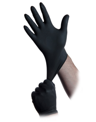 Nitrile and Latex InTouch Gloves, Powder Free, 4,000 Units MOQ, choose White, Black, or Blue, by Atlantic Safety