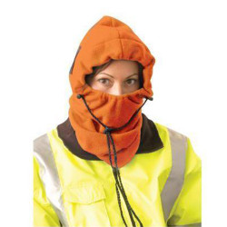 Occunomix 1070 Heavyweight 3-in-1 Fleece Balaclava, available in Navy, Camo or Hi-Viz Orange