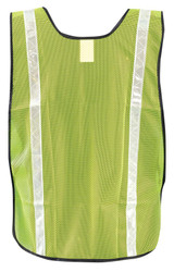 Occunomix LUX-XGTM Value Mesh Gloss Vest with 1 inch White Gloss Tape, available in Yellow and Orange