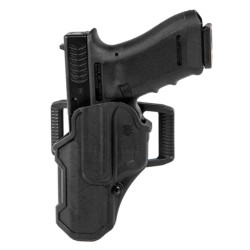Blackhawk 4107 T-Series L2C Duty Holsters, available in Left or Right Hand option, Black