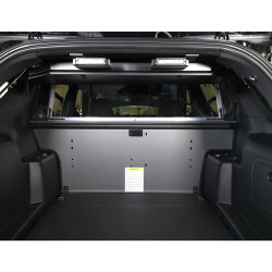 Lund Industries LOFT-EC Electronics Storage and Equipment Compartment, provides secured storage for electronic component installation, includes removable equipment mounting tray