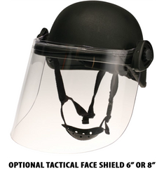 United Shield ACH-MICH High-Cut Bulletproof Helmet for Law Enforcement and Military, NIJ LEVEL IIIA Protection, Lightweight, Designed To Replace The In Service PASGT Helmet