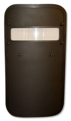 "United Shield Standard Ballistic Shield, NIJ Level IIIA Protection, Optional 4"" x 16"" Viewport, Led light, multiple sizes available, for Military and Law Enforcement"