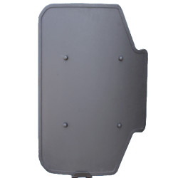 United Shield Kent Ballistic Shield, NIJ Level III and IIIA Protection, Ambidextrous shield, Built for different tactical settings, Integrated weapon mount, COMES IN BLACK, for Military and Law Enforcement