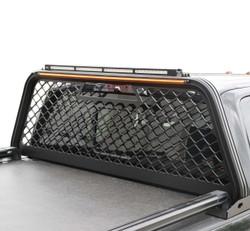 Putco Truck Headache Boss Rack, Chevy Silverado, GMC Sierra, LD 1500 (2014-2018), Black or Gray, No Drilling Required