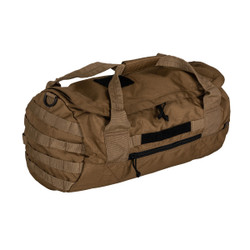 5.11 Tactical 56570 Rapid Duffel Sierra 29L, 100% Polyester, Removable shoulder strap, Right side panel with easy grab handle, available in Kangaroo Brown and Coal Grey