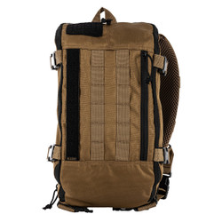 5.11 Tactical 56572 Rapid Sling Pack 10L, 100% Polyester, available in Kangaroo Brown and Coal Grey