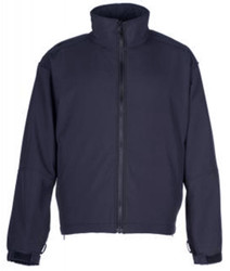 Spiewak S318Z Softshell Jacket/Liner, Uniform or Casual use, Windproof, waterproof, breathable, available in Black, Dark Navy, Green, and Brown, with Optional Drop-Down Panels (2 Front, 1 Back)
