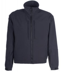 Spiewak S318ZX Deluxe Softshell Jacket/Liner, Uniform or Casual use, Windproof, waterproof, breathable, available in Black, Dark Navy Blue, and Police Green, Optional Drop-Down Panels (2 Front, 1 Back)