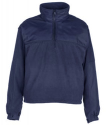 Spiewak S326 Quarter-Zip Fleece Job Shirt, Uniform or Casual use, available in Black and Dark Navy Blue