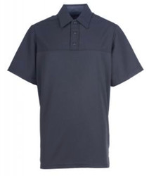Spiewak SBLPP30 Professional Poly Short-Sleeve Base Layer Men's Polo, Uniform, Dark Navy Blue