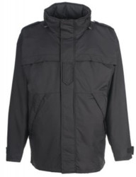Spiewak S1780 WeatherTech® Tactical Response Parka, Uniform or Casual use with 32 inch length, waterproof, windproof, breathable, Black, Optional Drop-Down Panels (2 Front, 1 Back)