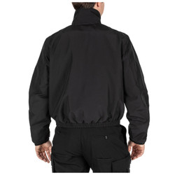 5.11 Tactical 48357 FAST-TAC® Duty Jacket, 100% Polyester, Uniform, 1 Chest Pocket, Badge Tab, Regular and Tall Length, available in Black, Dark Navy Blue, and Sheriff Green