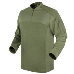 Condor Outdoor 101206 Trident Battle Top Long Sleeve Pullover, Uniform or Casual, 100% Polyester, available in Black, Tan Brown, and Olive Drab Green