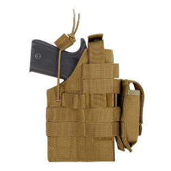 Condor Outdoor H-1911 Ambidextrous Holster, available in Black, Coyote Brown, and Olive Drab Green