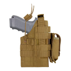 Condor Outdoor H-GLOCK Ambidextrous Holster, available in Black, Coyote Brown, and Olive Drab Green