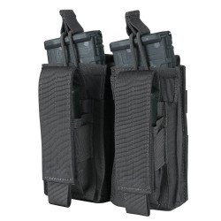 Condor Outdoor MA51 Double Kangaroo Mag Pouch, available in Black, Navy Blue, Slate Grey, Coyote Brown, and Olive Drab Green