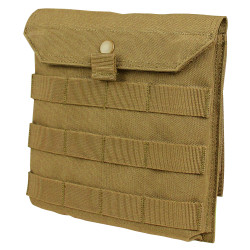 Condor Outdoor MA75 Tech Side Plate Pouch, Two 6 inch MOD straps included, available in Black, Coyote Brown, and Olive Drab Green