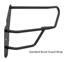 GO RHINO Dodge Charger 2015-2020 Push Bumper, 5000 Series, Optional Brush Guard Wrap, Steel, choose Texture or Gloss