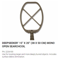 Garrett RECON-PRO AML-1000 UXO Configuration, Mine / ERW Detector, Waterproof, 1220010, 38 x 50cm open coil search head, for locating larger and more deeply buried objects, Includes surface debris elimination, headset, etc. Complete Kit