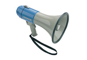 SHO-ME Megaphone with Whistle Signal