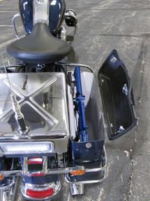 Law Enforcement Motorcycle Saddlebag Gun Rack Mount by Progard