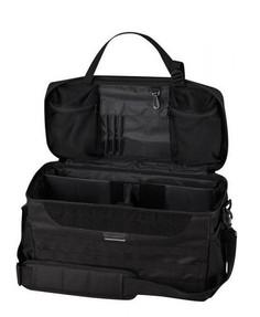 Propper® Tactical Patrol Bag, 100% 600D polyester with adjustable shoulder stap, straps into passenger seat, Black, F56920A001ONESZ