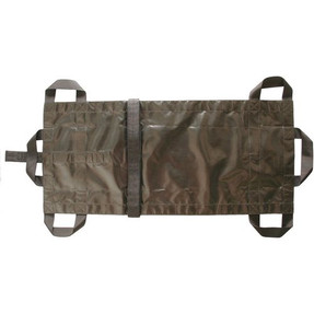 BLACKHAWK RAPIDFLEX™ MEDICAL LITTER, Rolls up into small bundle for easy storage, Compact and lightweight, adjustable waist strap, four side handles and reinforced drag straps, 20ML00BK
