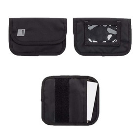 BLACKHAWK UNDER THE RADAR™ PASSPORT SECURITY POUCH, Constructed of 1050 denier nylon, Electromagnetic interior lining blocks incoming or outgoing signals, Foam padding for extra protection, Black, 61SC03BK