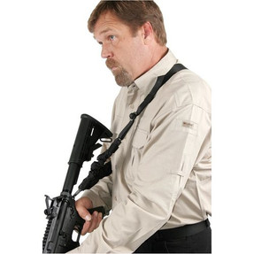Blackhawk! Dieter CQD™ Sling with Sling Cover, Hybrid Single-Point / Two-Point Sling 71CQS1BK