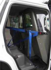 ProGard Chevy Tahoe Law Enforcement Prisoner Transport Rear Plastic Seat and Cargo Barrier