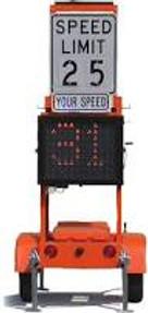 Solar Powered Silent Advisor Radar Speed Trailer RST1000 by SolarTech