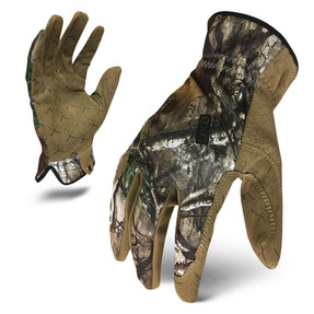 IronClad EXO Tactical Realtree Utility Glove with Embossed Microsuede Palm