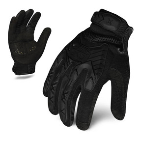 IronClad EXO Tactical Stealth Impact Glove with TPR Cuff Puller