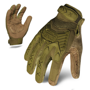 IronClad EXO Tactical Operator OD Green Impact Glove with Anti-Vibe Palm