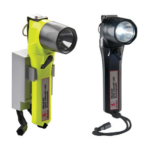 Pelican PM6™ Little Ed™ Right Angle Rechargeable LED Flashlight, Available in High Visibility Yellow or Black 3660