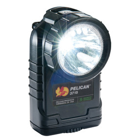 Pelican Right Angle Compact LED Flashlight, Available in High Visibility Yellow or Black 3715