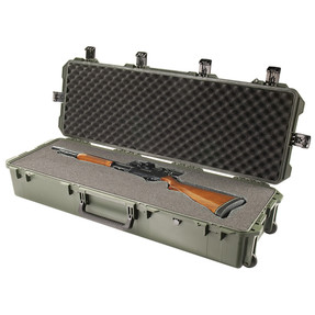 Pelican iM3220 Storm Rifle and Shotgun Long Case - Watertight, Crushproof, and Dustproof, Hard Case with Optional Foam Insert, Available in Black or OD Green, 48 x 18 x 10, 28 lbs (21 lbs w-out foam insert)
