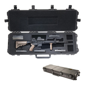 Pelican iM3200 Storm Rifle and Shotgun Long Case - Watertight, Crushproof, and Dustproof, Hard Case with Optional Foam Inserts, Available in Black or OD Green, 48 x 17 x 7, 24 lbs (20 lbs w-out foam insert)