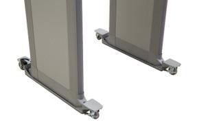 Garrett 1169101 PD-6500i Mobile Walk-Through Metal Detector - Walk-Through Caster Set (Gray, Beige)