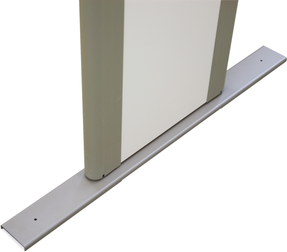 Garrett Stabilizer Base for PD-6500i & MZ-6100 Mobile Walk-Through Metal Detectors, Gray, 1603901