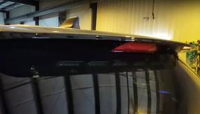 Sound-off FPIU Ford Law Enforcement Interceptor PI Utility SUV (Explorer) 2013-2019 & 2020 n-Force Rear Windshield Facing Interior LED Light bar ENFWBRF, Single color per light-head, includes shroud to reduce flash-back