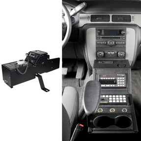 Gamber Johnson 7160-0435 Chevrolet Tahoe (2007-2014) Console Box, includes faceplates and filler panels
