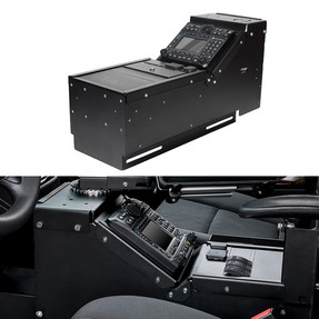 Gamber Johnson 7160-0548 Chevy Tahoe 2015-2020 Console Box, includes faceplates and filler panels