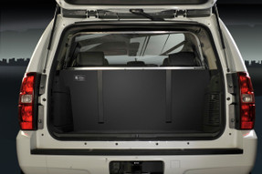 Setina Chevy Tahoe 2007-2014 Law Enforcement SUV Cargo Barrier Rear Partition Cage 12VS, choose Metal Wire or Polycarbonate Plastic Window