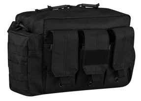 Propper® Bail Out Tactical Bag, 100% 600D polyester with padded shoulder strap, drain holes throughout, and is double sided, available in Black or Coyote Brown, F5693