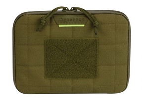 """Propper® 8"""" Tablet Case with Stand that holds tablet horizontally at various angles, available in Black, Coyote Brown and Olive Green, F5637"""